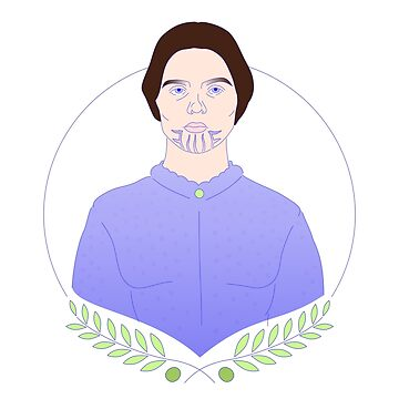 Olive Oatman Portrait with Olive Branches by figfive