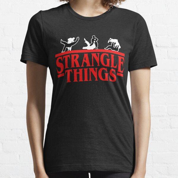 Strangle Things | brazilian jiu jitsu | jiu jitsu apparel | jujitsu shirts | bjj | bjj shirt | bjj gift | martial arts shirt | mma shirt Essential T-Shirt