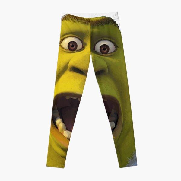 Surprised Shrek Leggings