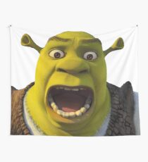 Surprised Shrek Tapestry