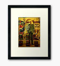 Worlds tallest man - Robert Wadlow Framed Print