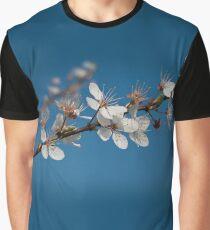 Wild Plum Blossom Graphic T-Shirt