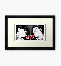 Akira: Kaneda V. Tetsuo Framed Print