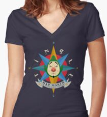 Tingle Inc Women's Fitted V-Neck T-Shirt