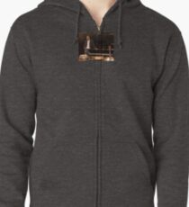 Tony DuPuis Theater Stage Pic Zipped Hoodie