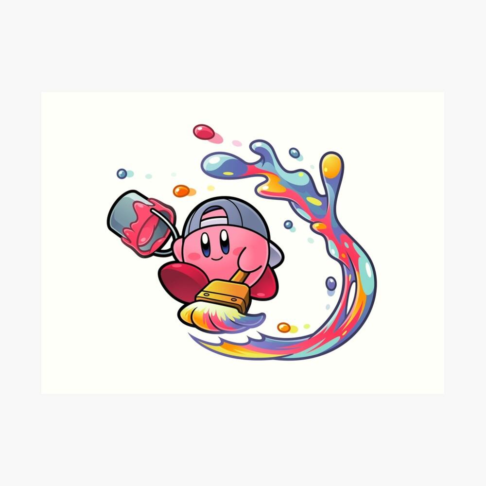 Malerei Kirby Kunstdruck