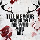 Tell Me Your Design - Hannibal typography  by JKissellDesigns
