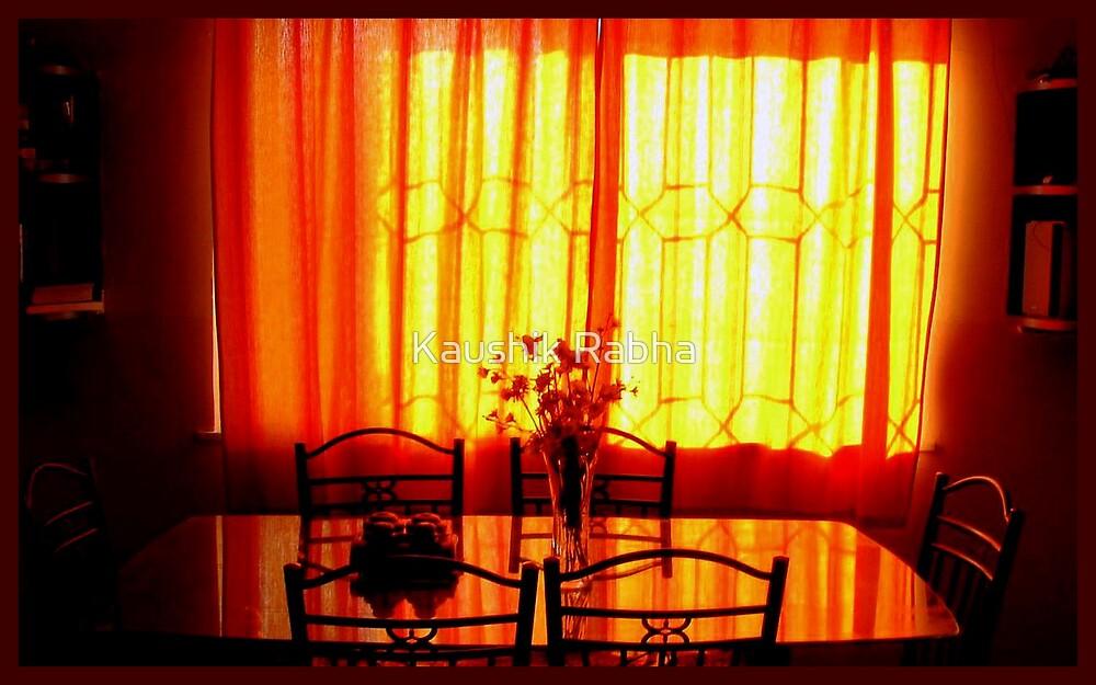 An afternoon at home by Kaushik Rabha