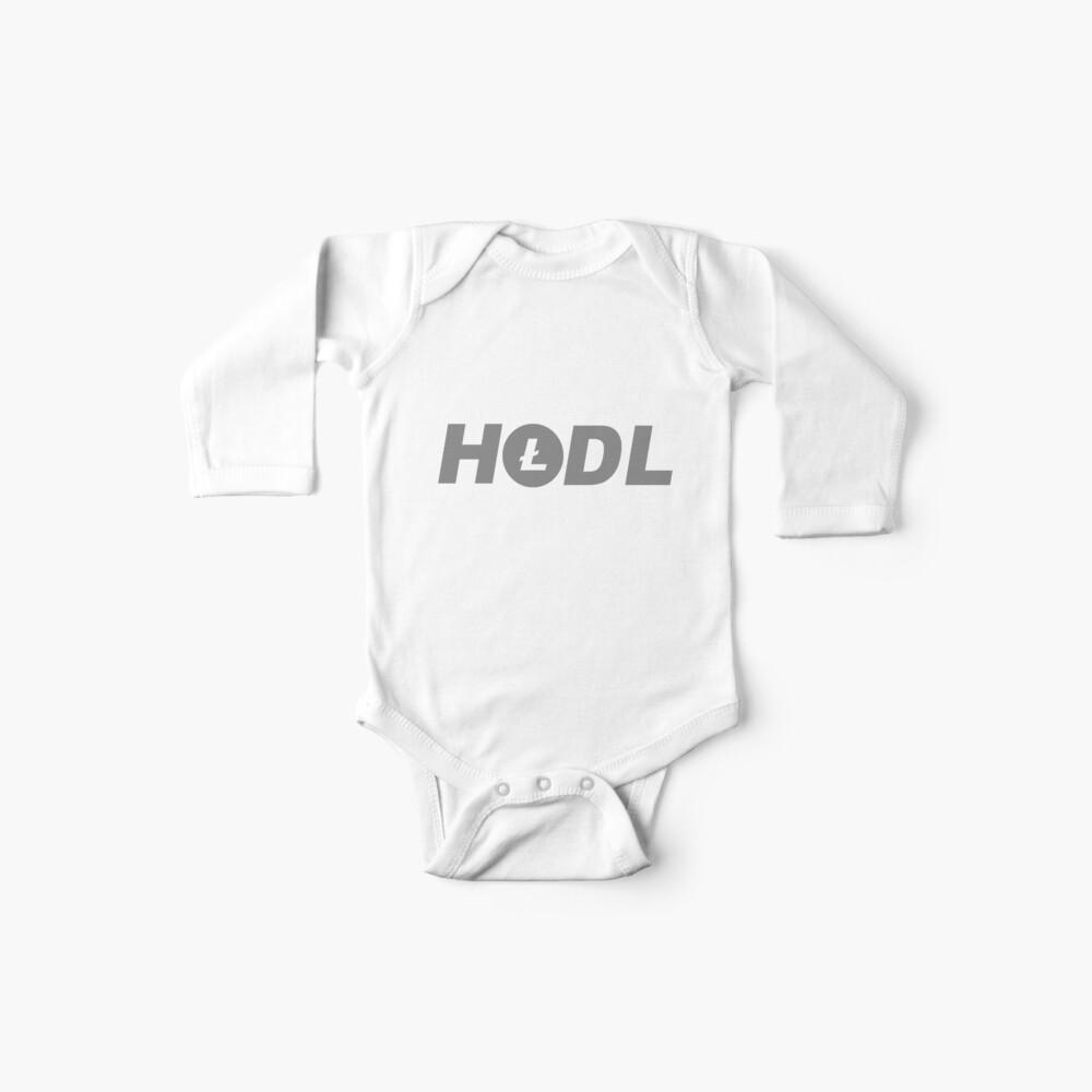 HODL Litecoin Baby Bodys