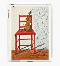 Violin in Repose Watercolor Art iPad Case/Skin