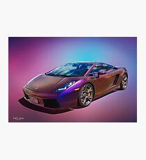 Super Car Dreaming Photographic Print