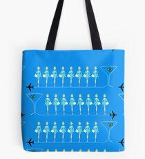 Classic Retro Flight Attendant Tote Bag