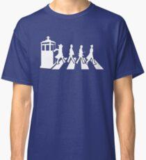 Tardis Road - White Classic T-Shirt