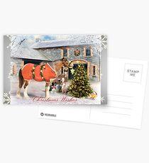 The Christmas Star - Snowflake Edition Postcards