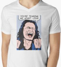 you're tearing me apart, Lisa!  Men's V-Neck T-Shirt