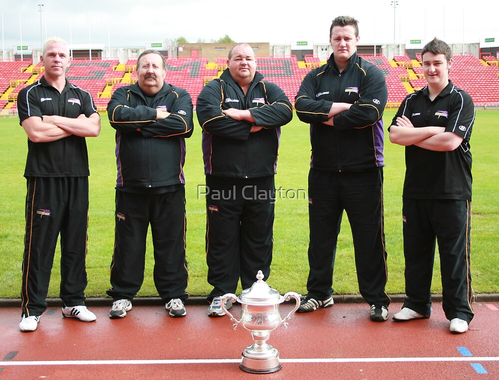 Gateshead Thunder 2008 - Backroom Team by Paul Clayton
