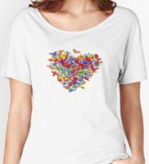 Flutterbys Women's Relaxed Fit T-Shirt