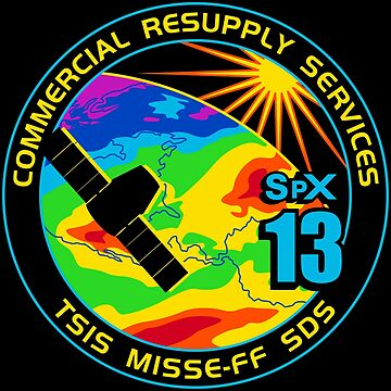NASA/SpaceX Commercial Resupply Services CRS-13 (SpX-13) Mission Patch by bobbooo