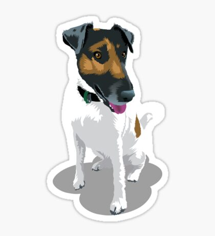 Foxy Terrier Sticker