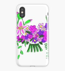 Pink and Purple Bouquet 20 iPhone Case/Skin
