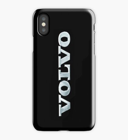 Old Volvo Emblem [iPhone ONLY - read artist notes!] iPhone Case