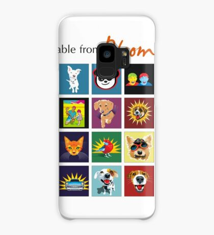 Bloomin' Arty T-Shirts Case/Skin for Samsung Galaxy