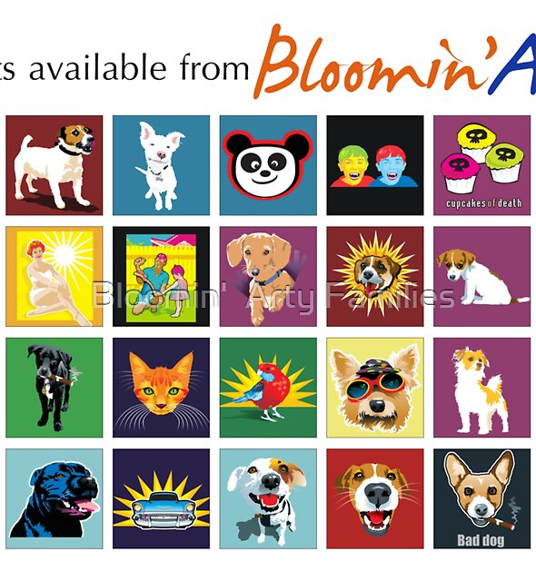 Bloomin' Arty T-Shirts by Bloomin'  Arty Families
