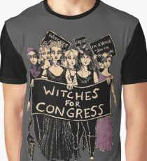 Witches For Congress! Graphic T-Shirt