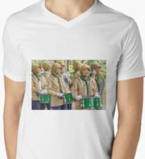 Here Comes the Band Men's V-Neck T-Shirt