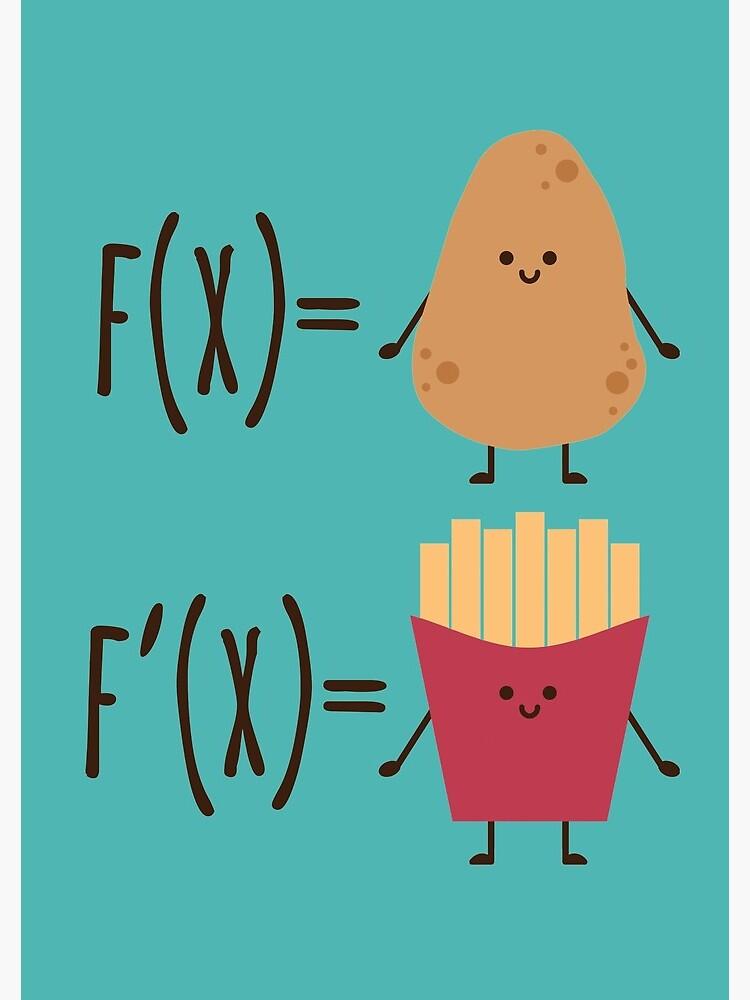 The derivative of a potato by Purpledots