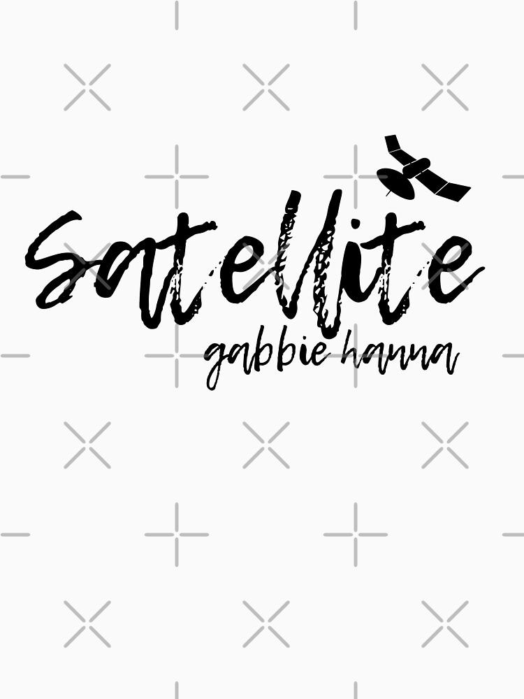 Satellite Gabbie Hanna Typography (thegabbieshow) by artsydoodles