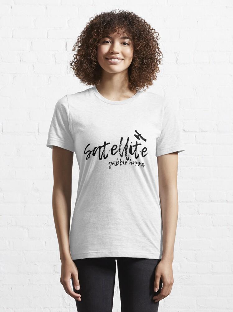 Alternate view of Satellite Gabbie Hanna Typography (thegabbieshow) Essential T-Shirt
