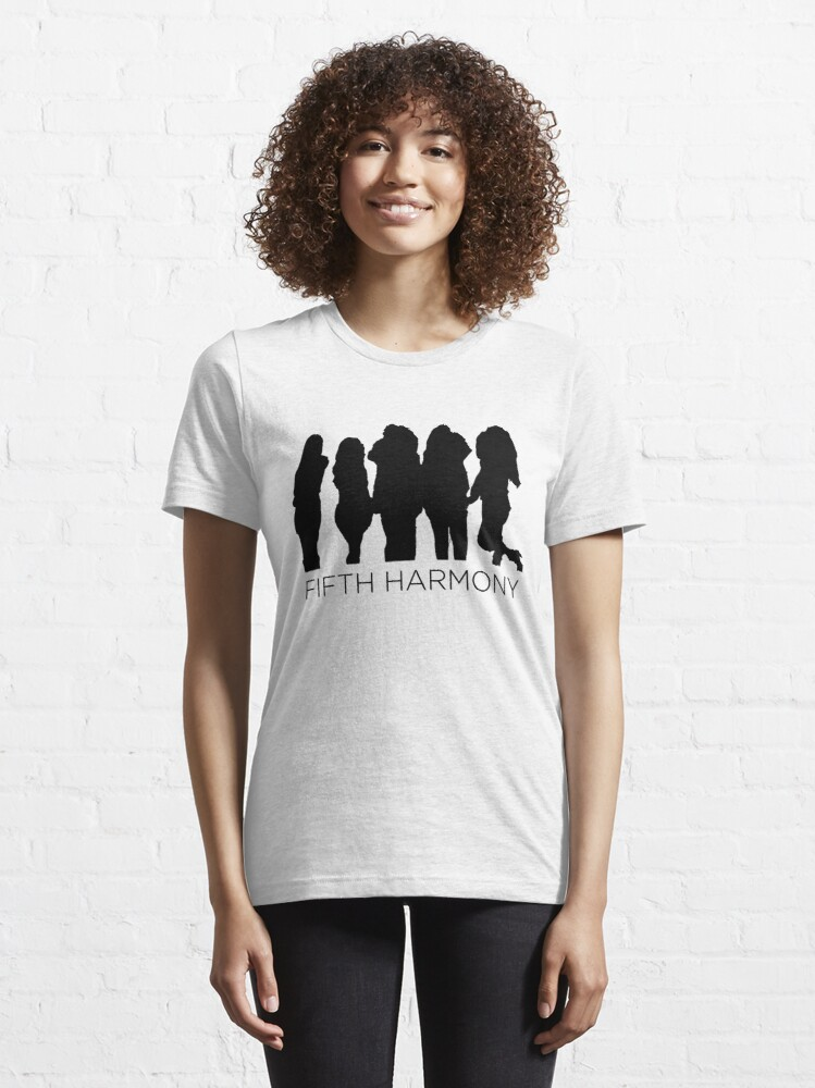 Alternate view of Fifth Harmony silhouette  Essential T-Shirt