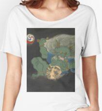 Kaminari [The thunder god] - Kamisaka Sekka Women's Relaxed Fit T-Shirt