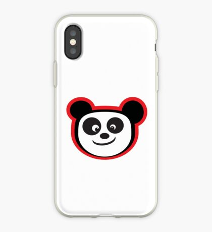 Smiling Panda iPhone Case