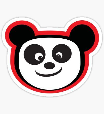 Smiling Panda Sticker