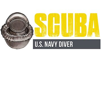 SCUBA USN Diver Small by dtkindling