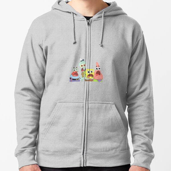 The Krusty Krab Zipped Hoodie