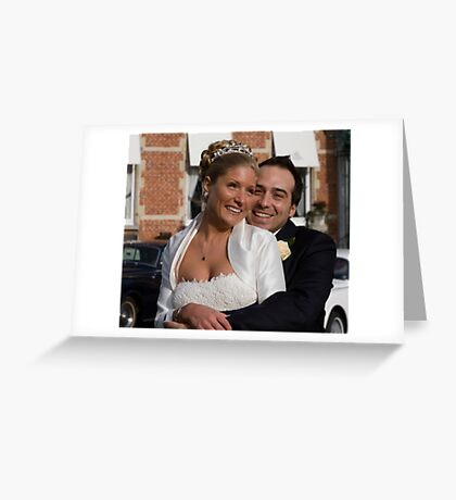 Two Hearts Become One... Greeting Card