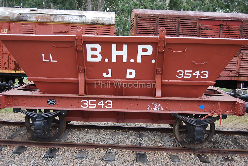 Coal Wagon by Phil Woodman