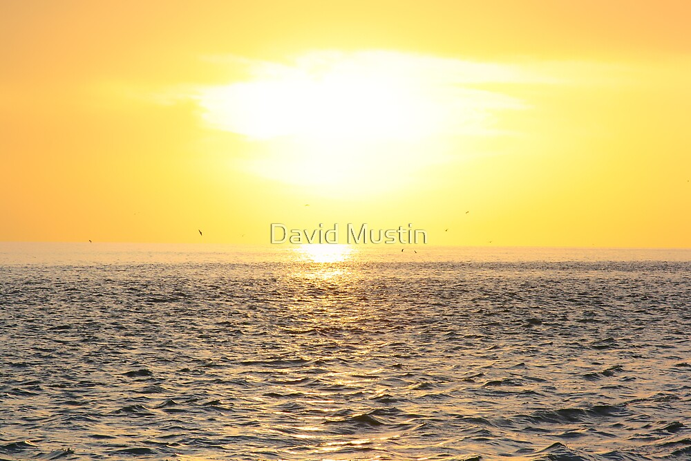 Time Lapsed Sunset by David Mustin