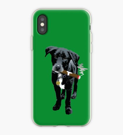 Smokin' Staff Cross Staffy iPhone Case
