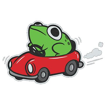 FROG IN A CAR - MOTHER 3 by L1927N
