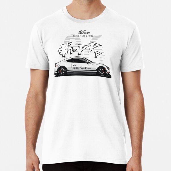 Toyota GT86 - Initial D inspiriert Premium T-Shirt