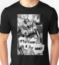 Gundam Wing Manga Heavyarms Unisex T-Shirt