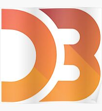D3.js Logo Poster
