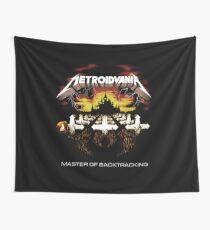 METROIDVANIA - Metroid Castlevania Shirt Wall Tapestry