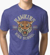 Hawkins High School Tri-blend T-Shirt