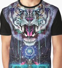 Psychedelic Tiger Graphic T-Shirt