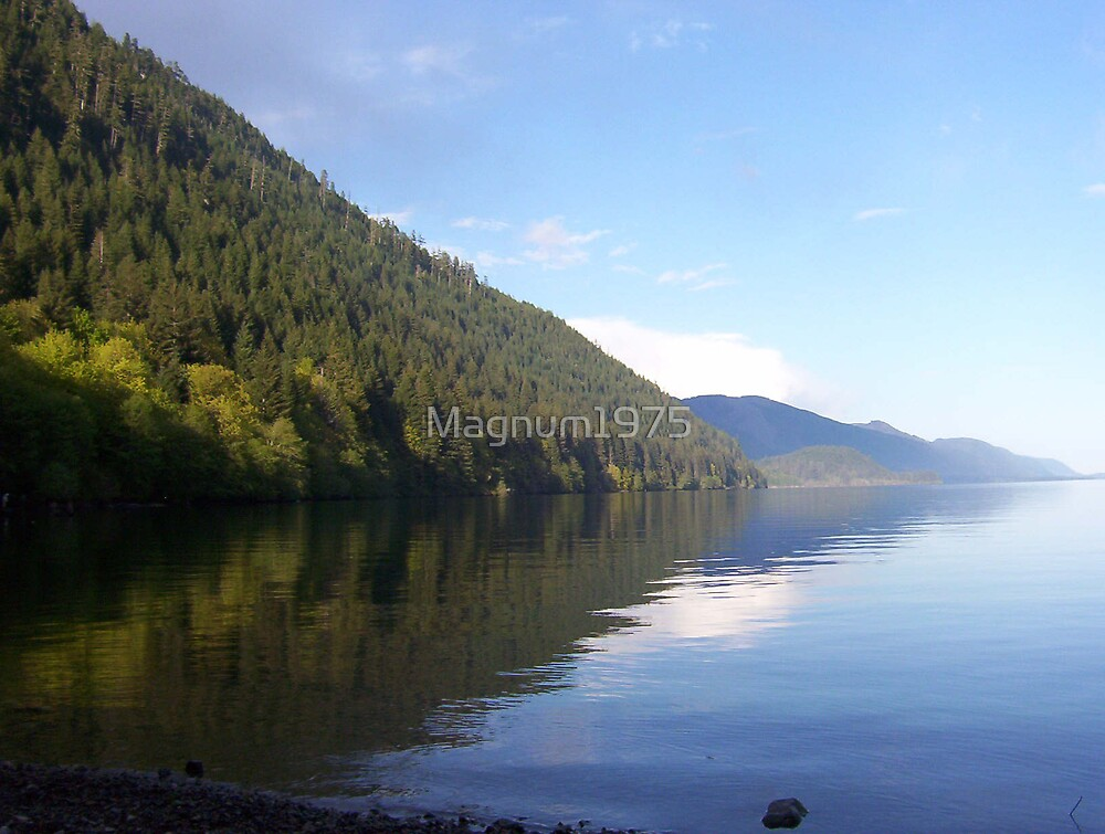 Lake Cowichan, Vancouver Island, BC, Canada by Magnum1975